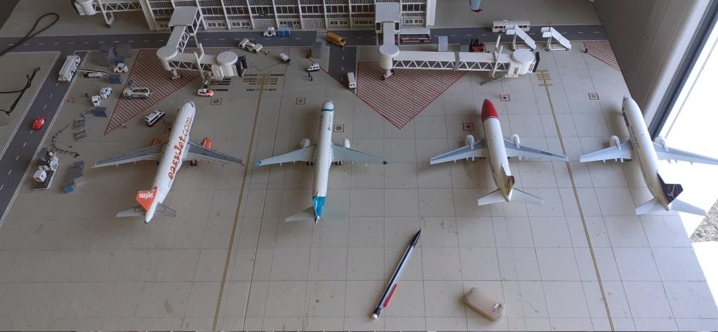 Réalisation de la maquette 1/144 d' un aéroport international (scratch) - Page 20 20200401