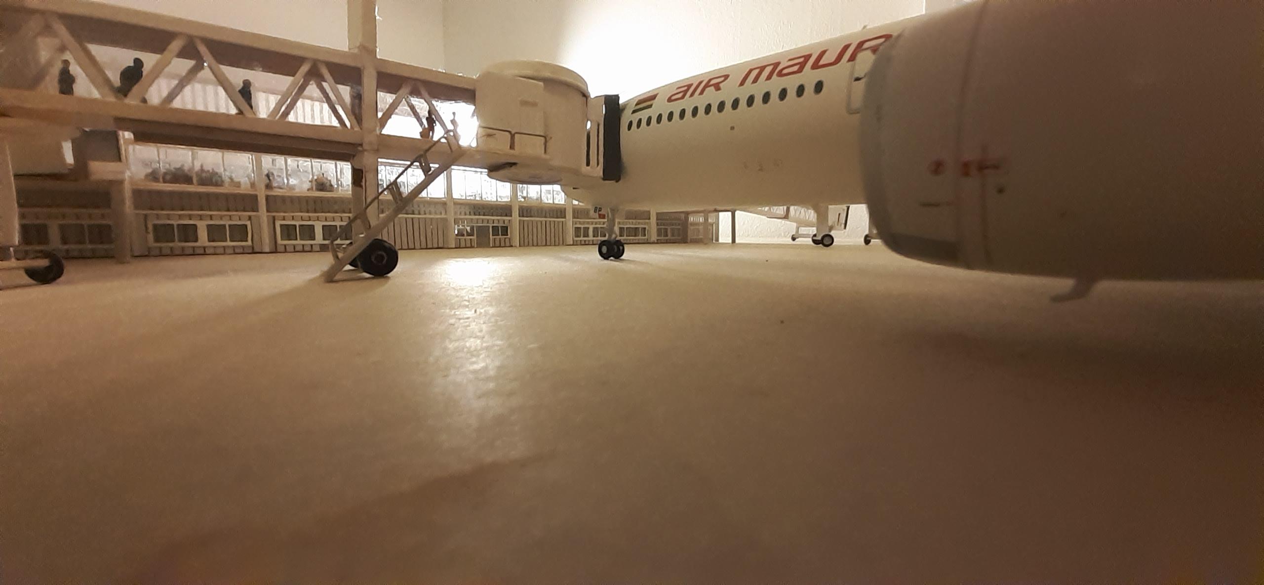 Réalisation de la maquette 1/144 d' un aéroport international (scratch) - Page 17 20200592