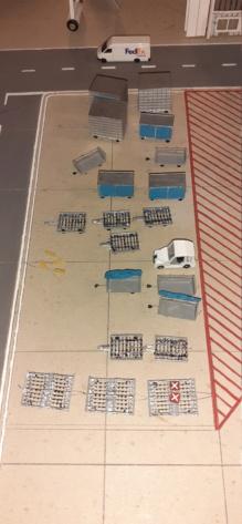 Réalisation de la maquette 1/144 d' un aéroport international (scratch) - Page 19 20200984