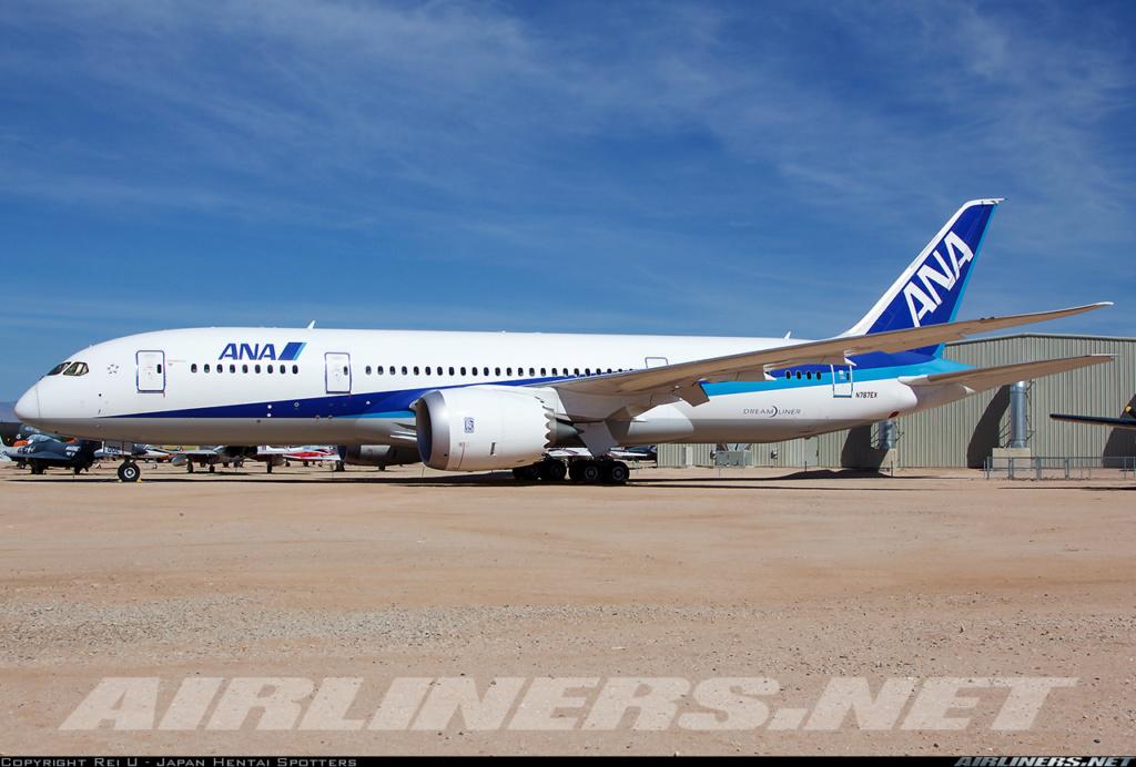 BOEING 787-800 ANA  / ZVEZDA/ 1:144 46721810