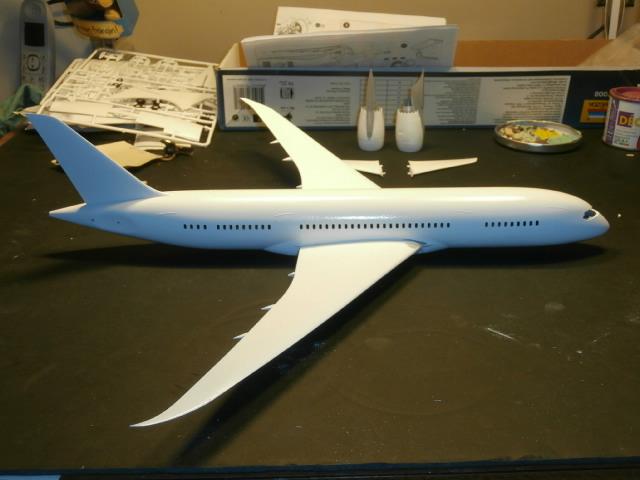 BOEING 787-800 ANA  / ZVEZDA/ 1:144 P7100014