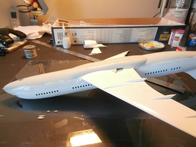 BOEING 787-800 ANA  / ZVEZDA/ 1:144 P7150010