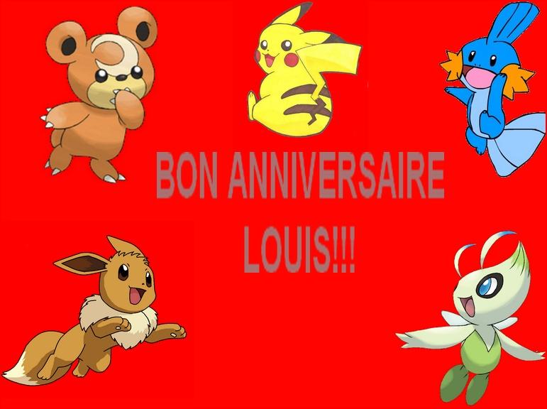 Joyeux Anniversaire Louis D Page 1