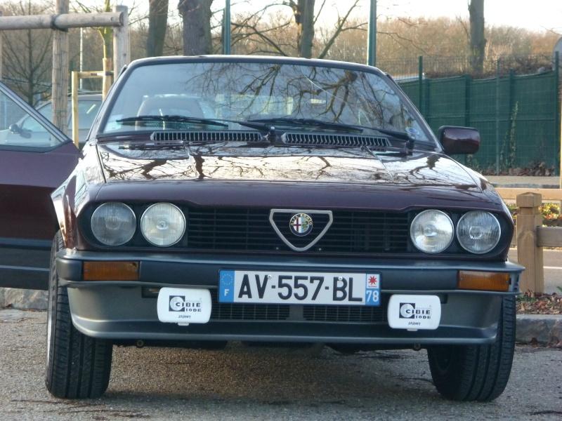 Notre restauration de mon GTV par  Paolo et père... - Page 7 P1020310