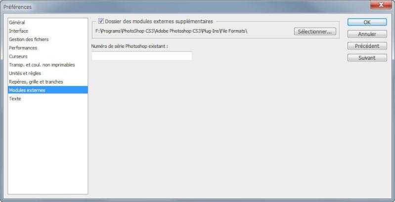 Adobe Photoshop ne veut pas des fichiers DDS. Cs2_dd10