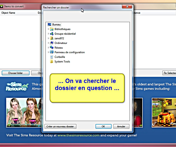 [Apprenti] CP Sims 3 - Utilisation du TSRW RigFixer Tsrw-r13
