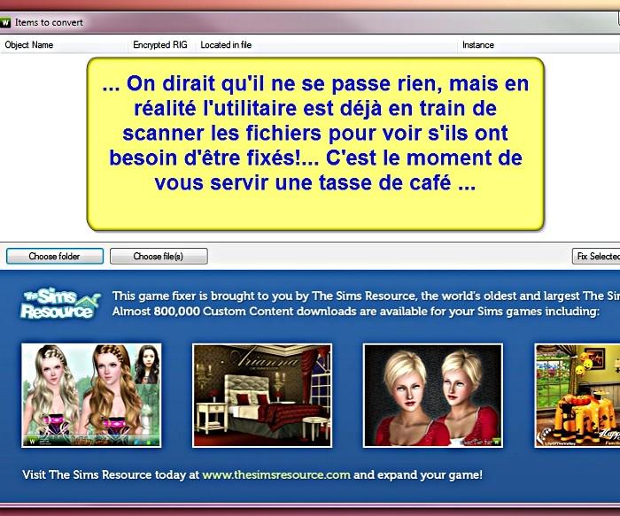 [Apprenti] CP Sims 3 - Utilisation du TSRW RigFixer Tsrw-r14