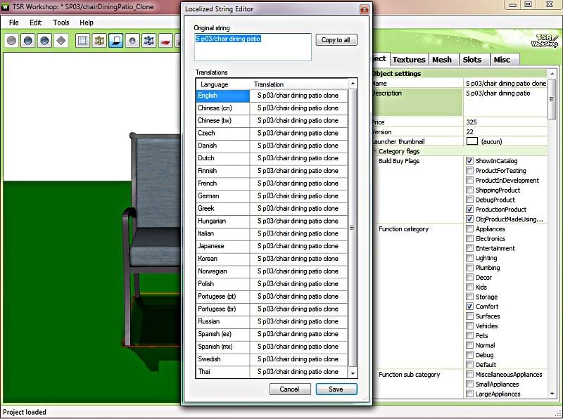 [Fiche] Comparatif des outils de clonage d'objets Sims 3  P1 Tsrw1011