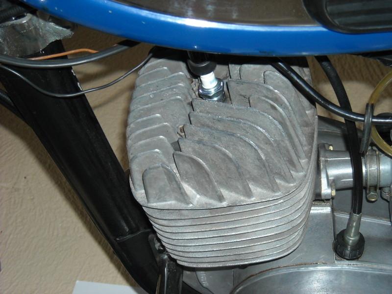 Culasse de 125 TS Ts125-10