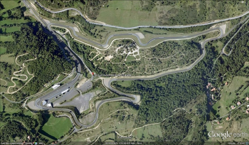 trouver les circuits avec google earth  Charad10