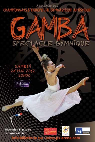 Championnats d'Europe GAM 2012 à Montpellier Affich13