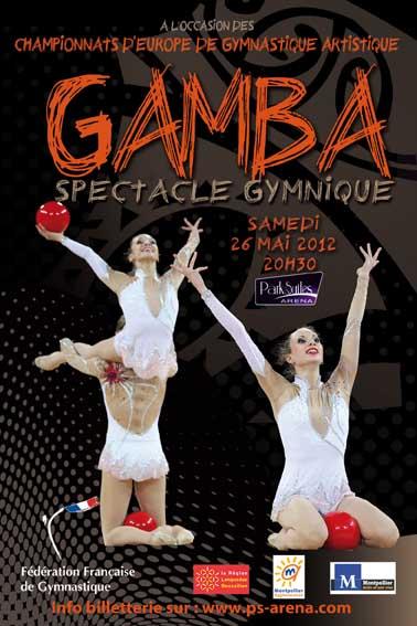 Championnats d'Europe GAM 2012 à Montpellier Affich14