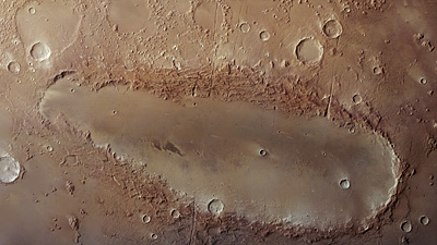 Orcus Patera on Mars 472-2010