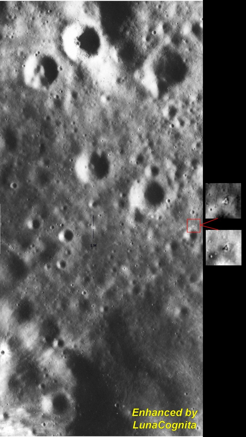 Apollo 16 EVA 3 - House Rock Anomalies A16-4610