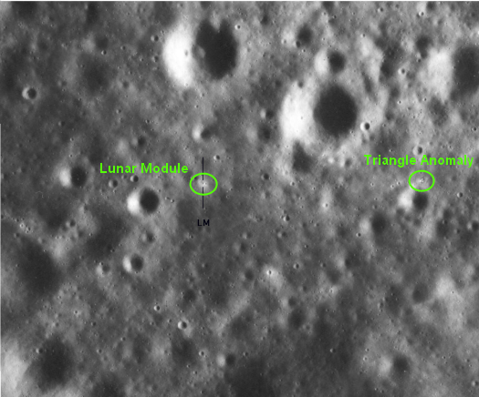 Apollo 16 EVA 3 - House Rock Anomalies A16_5210