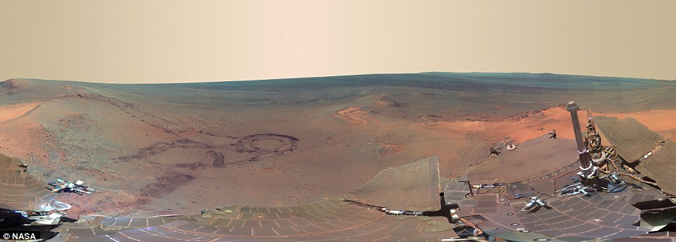 'Greeley Panorama' from Opportunity's Fifth Martian Winter Greele10