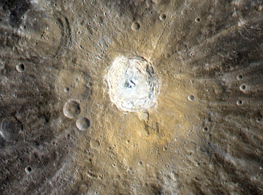 Mercury: Kuiper Crater in Color Kuiper10