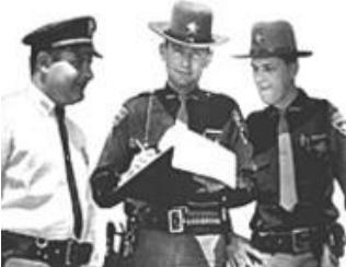 Portage County Ohio, Police UFO chase 1966 Sherif10