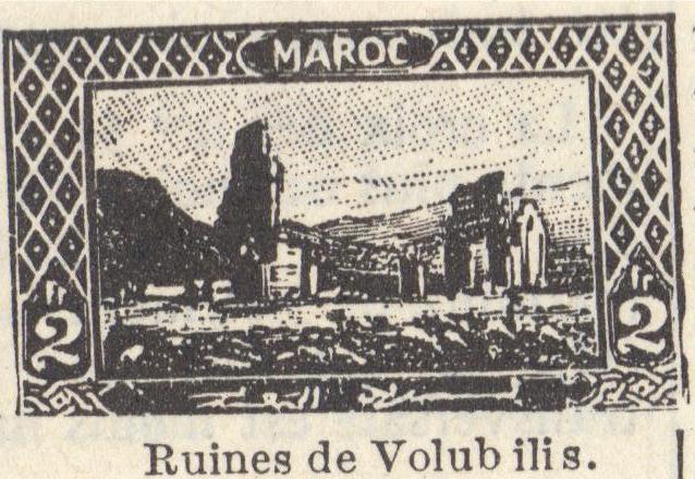 Les Timbres, Monnaies et Pièces du Maroc Timbre19