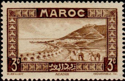 Les Timbres, Monnaies et Pièces du Maroc Timbre48