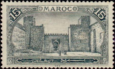 Les Timbres, Monnaies et Pièces du Maroc Timbre54