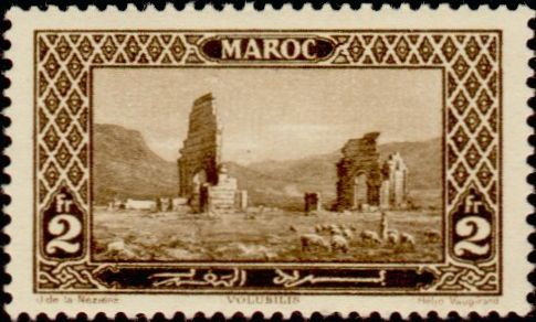 Les Timbres, Monnaies et Pièces du Maroc Timbre56