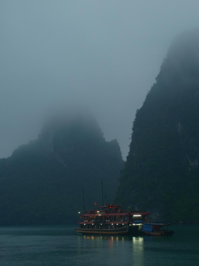 Vietnam... La Baie d'Halong... en Kayak P1197514