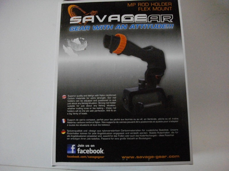 Support canne Savage-gear I10