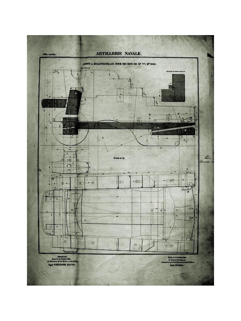 Canon-obusier à la Paixhan, modèle  1842, no 1 - Page 4 Affat_10