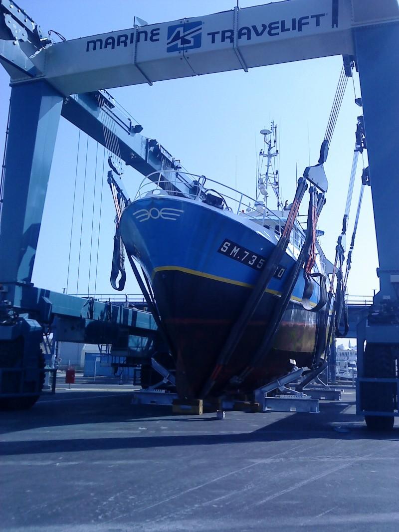 Grue portuaire CCI de saint malo B210