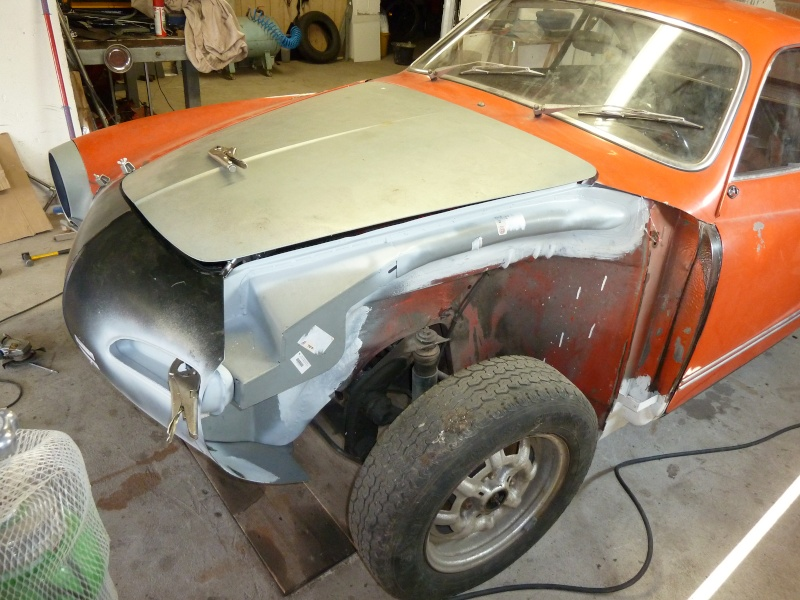 denis du bas rhin et sa Karmann Ghia de 73 sortie de grange - Page 2 P1060014