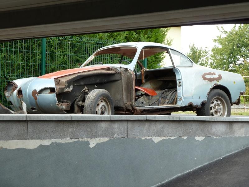 denis du bas rhin et sa Karmann Ghia de 73 sortie de grange - Page 4 P1060910