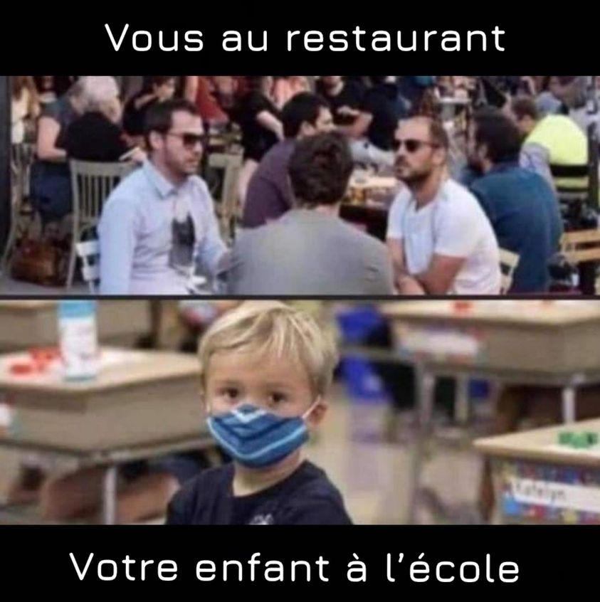 QUÉBEC - La rentrée scolaire sans masque - Le Gouverne-Ment revient sur sa décision 24049310