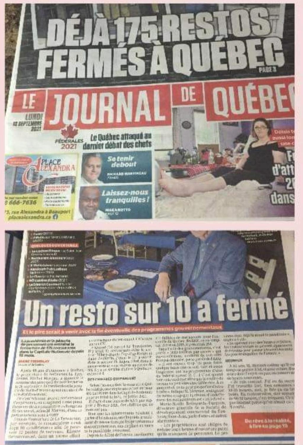 1er septembre 2021 - Le Québec entre officiellement en Dictature avec l'obligation du Pass Sanitaire - Page 2 24185110