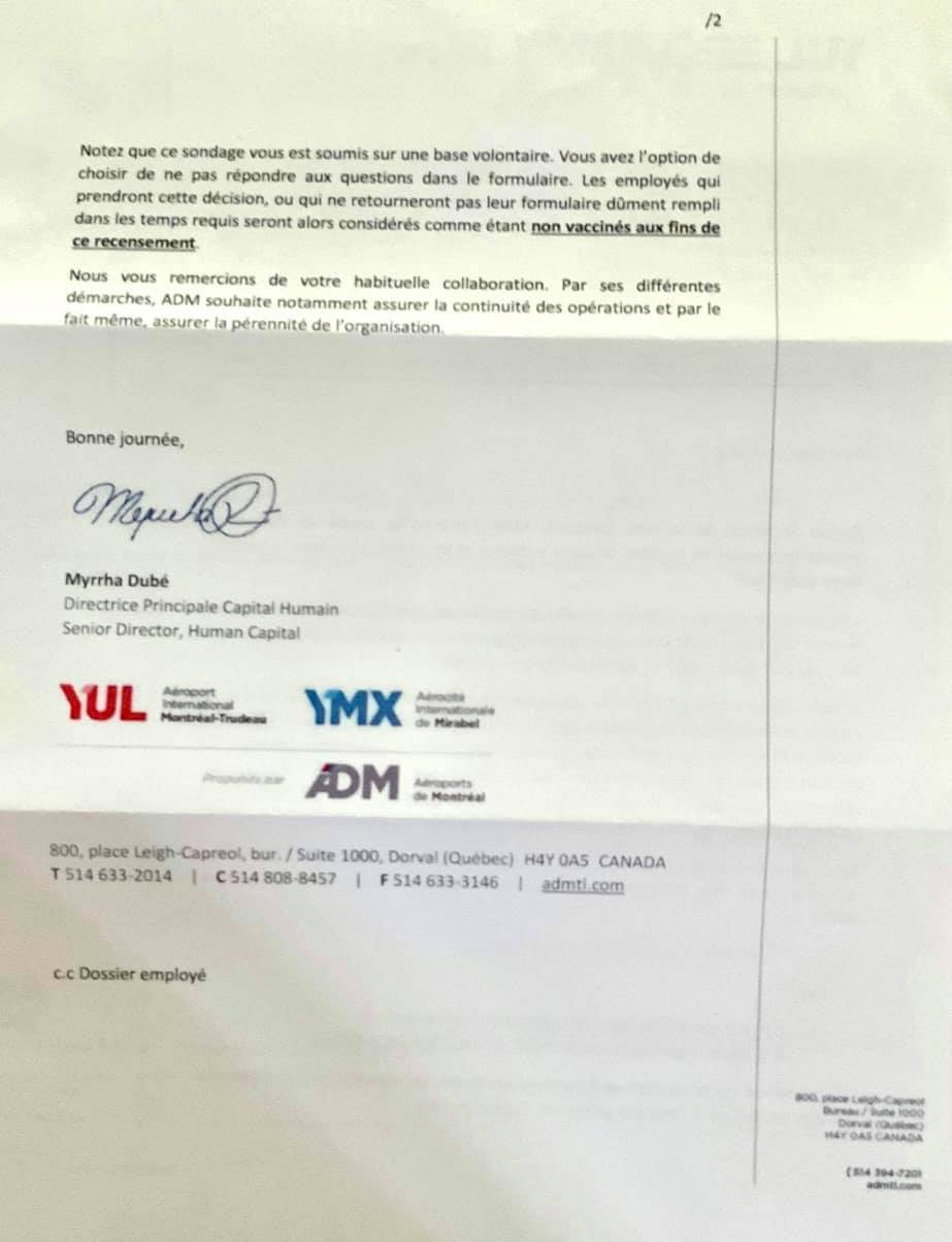 1er septembre 2021 - Le Québec entre officiellement en Dictature avec l'obligation du Pass Sanitaire - Page 2 24264610