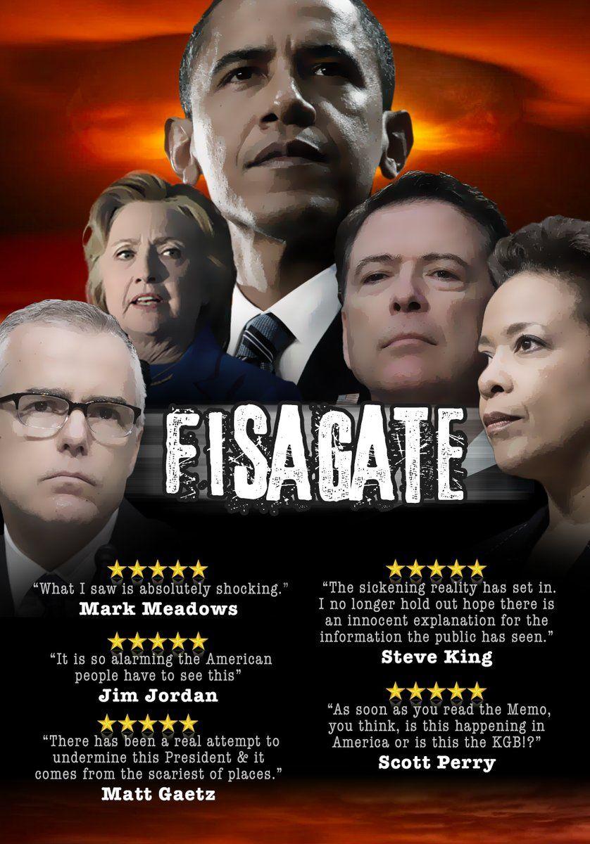 SPYGATE : La véritable histoire de collusion contre le Président Donald J. Trump ! 36e3b610