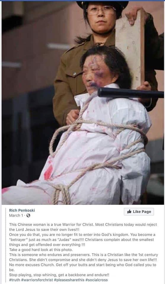 Reportage-Choc en Images : Persécution des Chrétiens en Chine ! 52134210