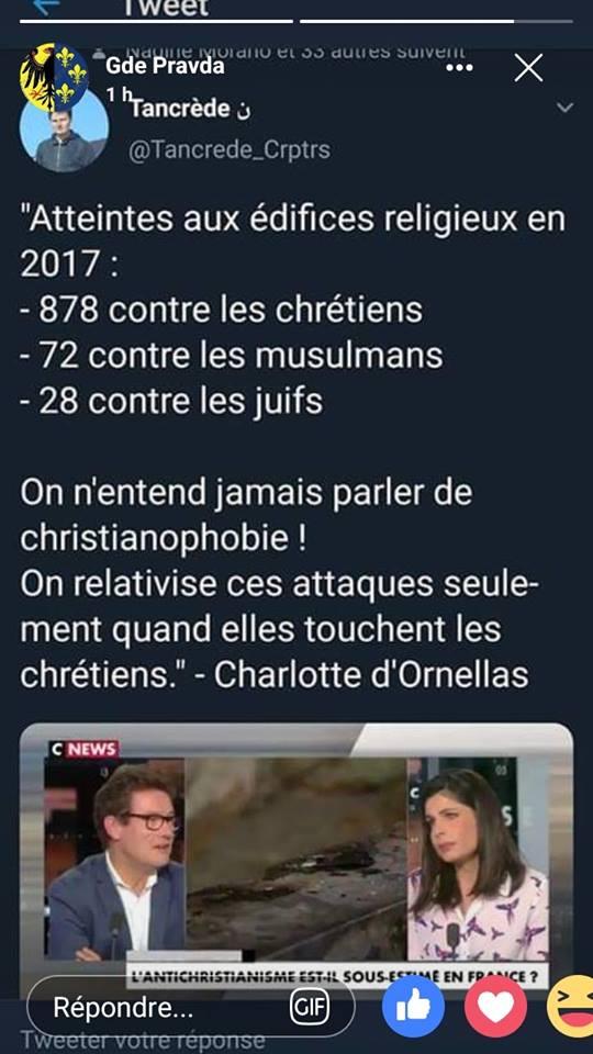 FRANCE : Les actes de christianophobie sont en hausse ! 52528610