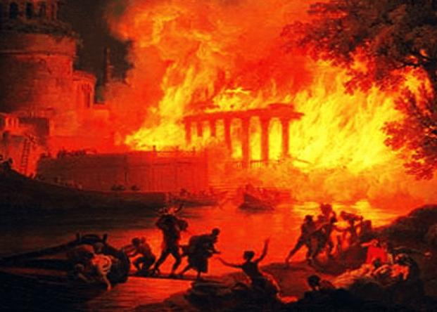 CARBONIA - Rome est sur le point de s'effondrer ! 5bb45110