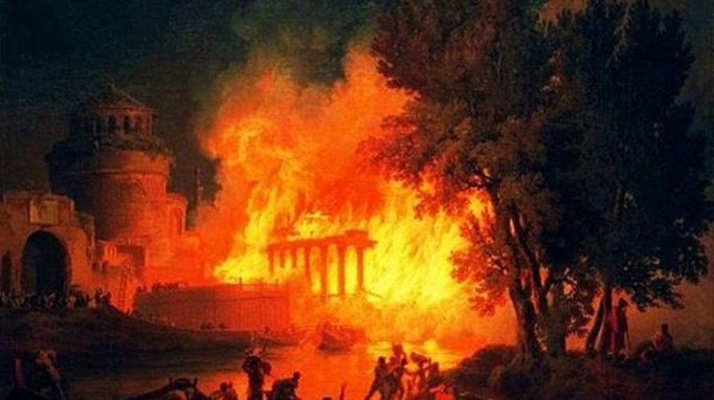Rome brûlera, le Vatican s'écroulera, la terre s'ouvrira... ! 808bec10