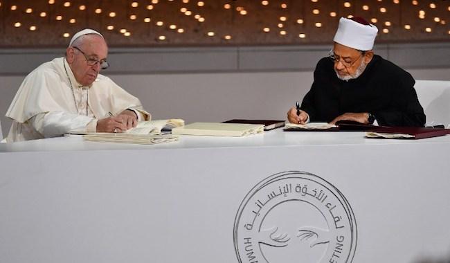 Le Pape aux Émirats : En route vers l'Unique Religion Mondiale ! 96168_10