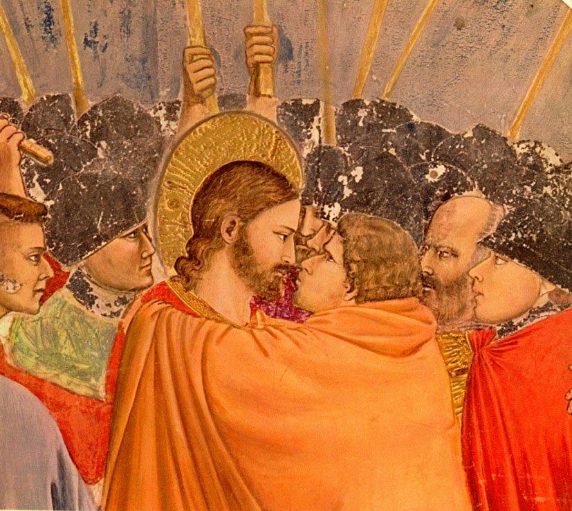 PROPHÉTIE ANNONCÉE ET RÉALISÉE : Le Pape donne le Baiser de Judas à Jésus tel qu'annoncé par Maria ! Baiser10