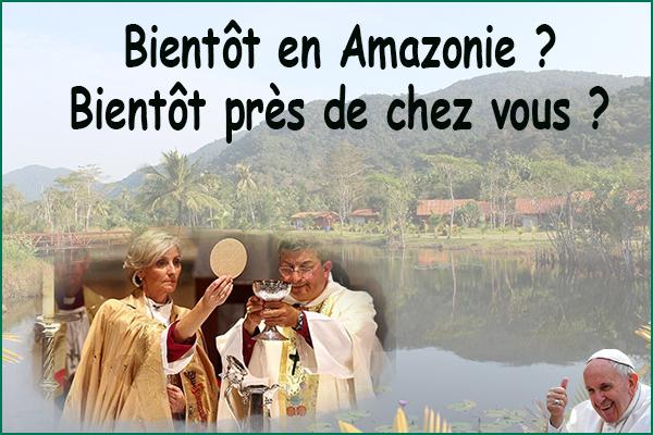 SCANDALEUX : Le Pape François voudrait ordonner des chamanes de l'Amazonie comme Prêtres sans format Biento10