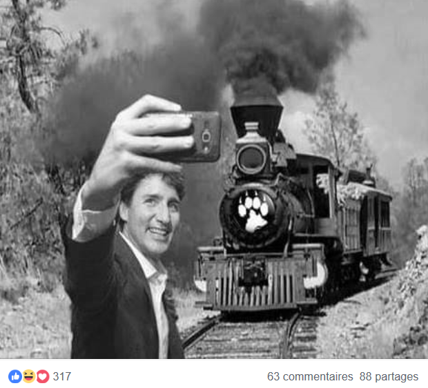 MORT DE RIRE : Justin Trudeau, un accroc des selfies ! Captu103