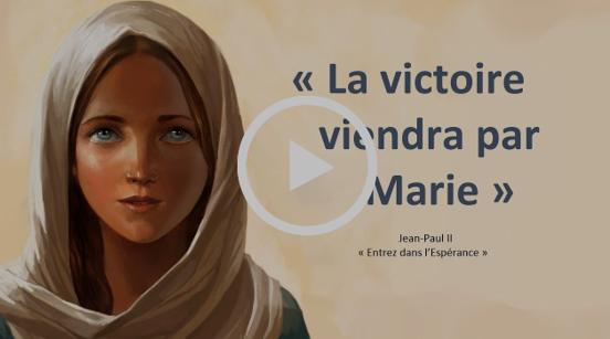 """Vidéo-Virale : """"La Victoire viendra par Marie - 1,000,000 de vues sur Youtube"""" ! Captu134"""