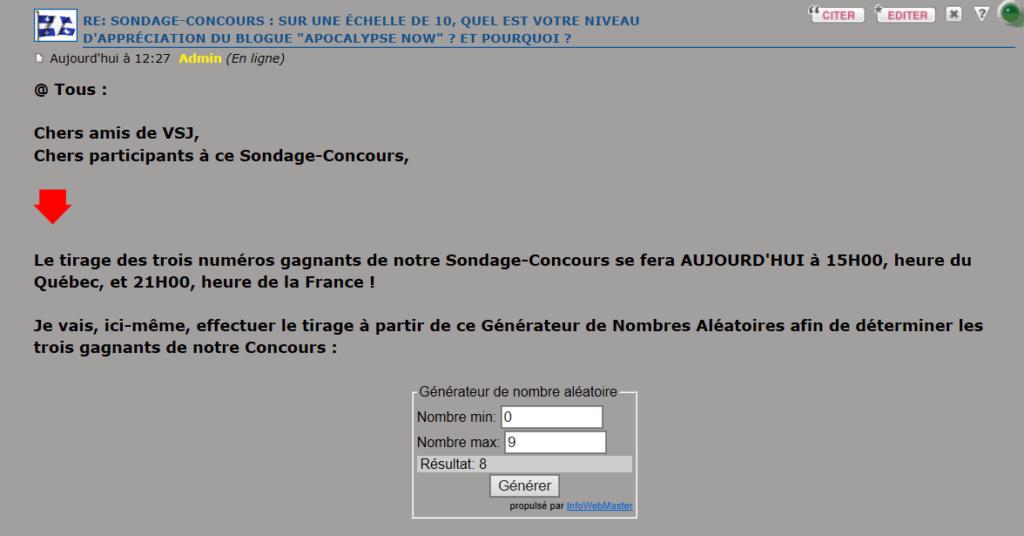 """SONDAGE-CONCOURS : Sur une échelle de 10, quel est votre niveau d'appréciation du Blogue """"Apocalypse Now"""" ? Et pourquoi ? - Page 3 Captu136"""
