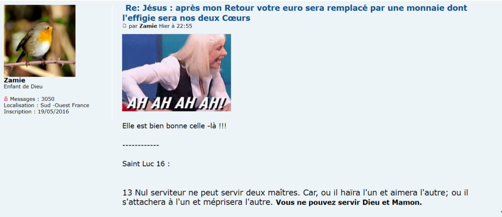 FAUX-MESSAGE ? : Votre euro sera remplacé par une monnaie dont l'effigie sera nos deux Cœurs Unis. - Page 2 Captu176