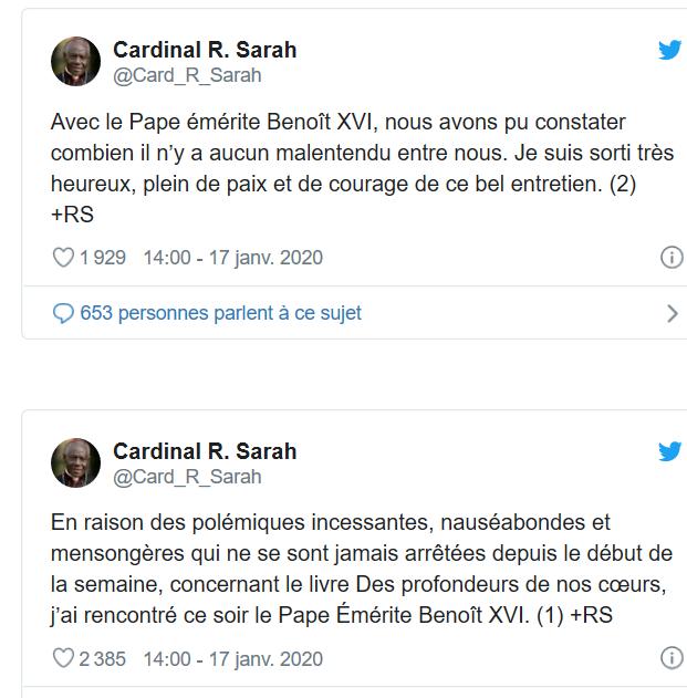 DERNIÈRE HEURE : Benoît XVI appelle le Pape François à ne pas ordonner d'hommes mariés ! Captu212