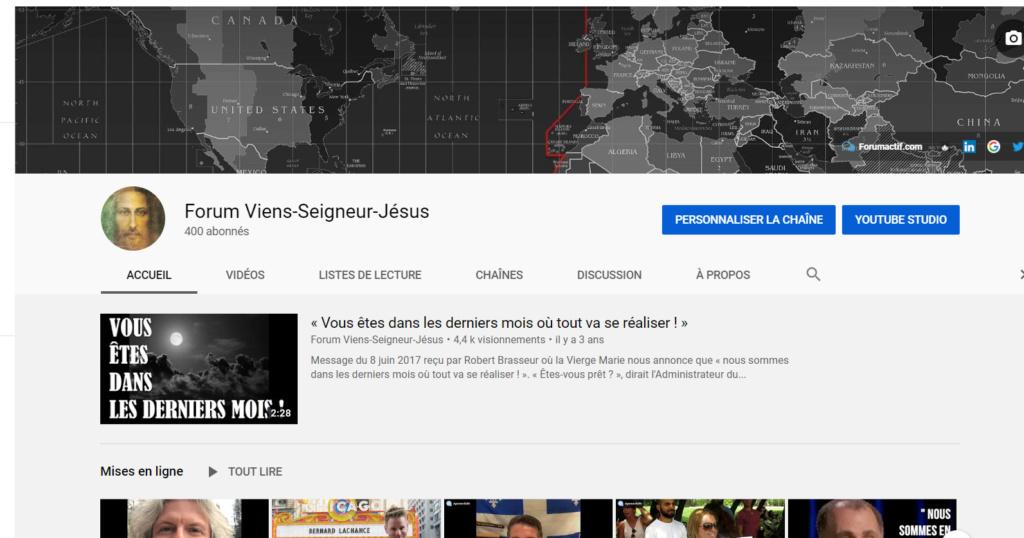 Chaîne YouTube du Forum VSJ - Nous avons maintenant 400 abonnés ! Captu348