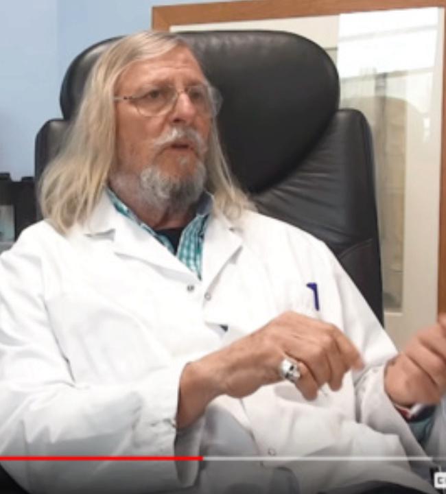 CORONAVIRUS: Le principal promoteur de la Chloroquine, le Dr Raoult, serait-il un fumiste sataniste? Captur34